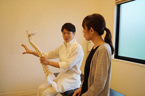 整骨院で治療を開始